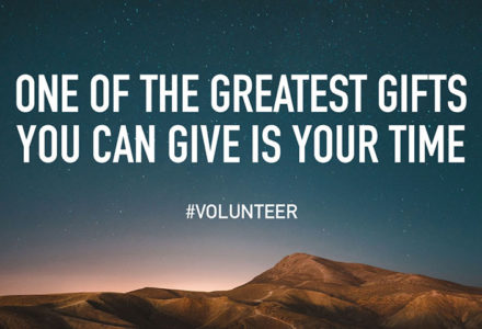 One of the greatest gifts you can give is your time #volunteer for How Volunteering Can be more than a Requirement