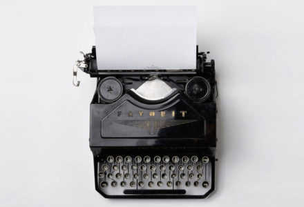 image of a typewriter for Tips and Tricks for Your Writing
