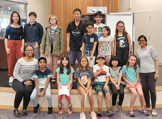 Young authors in a Write It Workshop